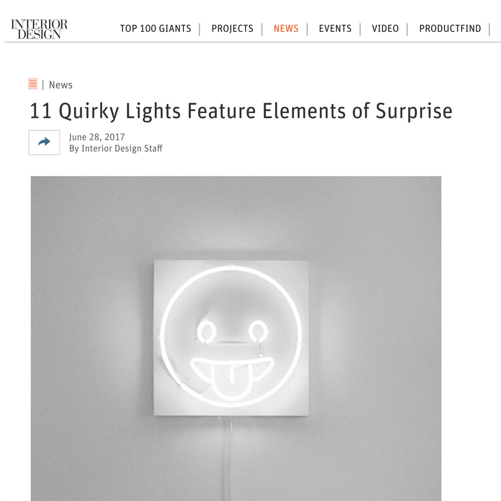 Interior Design, 11 Quirky Lights Feature Elements of Surprise, 2017