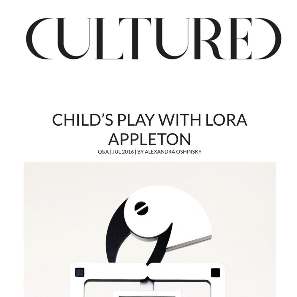 Cultured, 2016