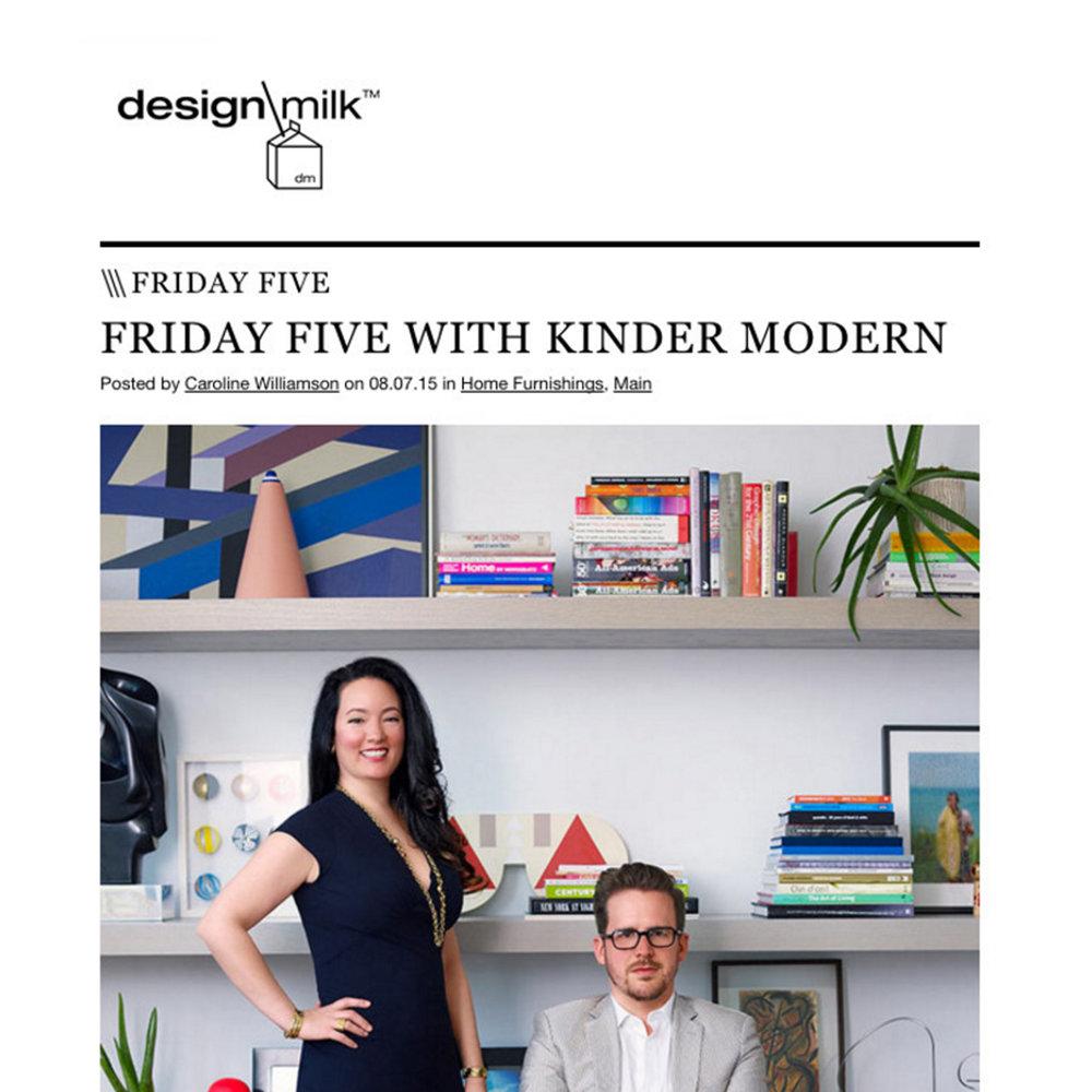 Design Milk, 2015
