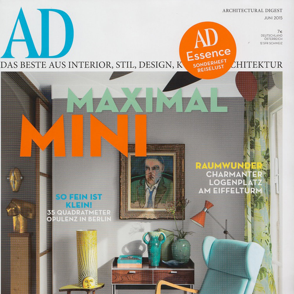 Architectural Digest Germany, 2015