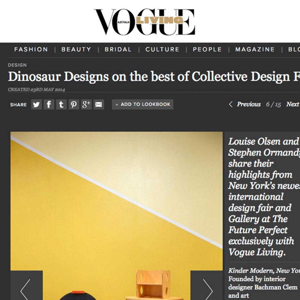 Vogue Living, 2014