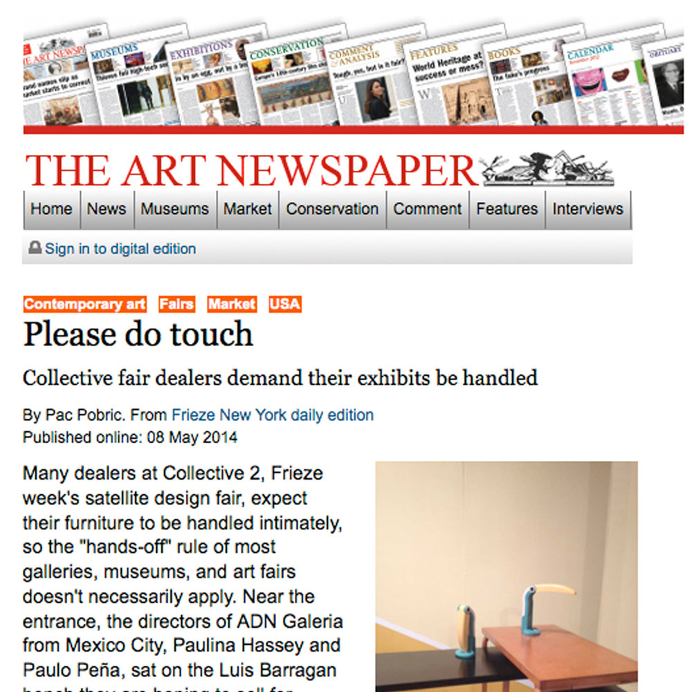 The Art Newspaper, 2014