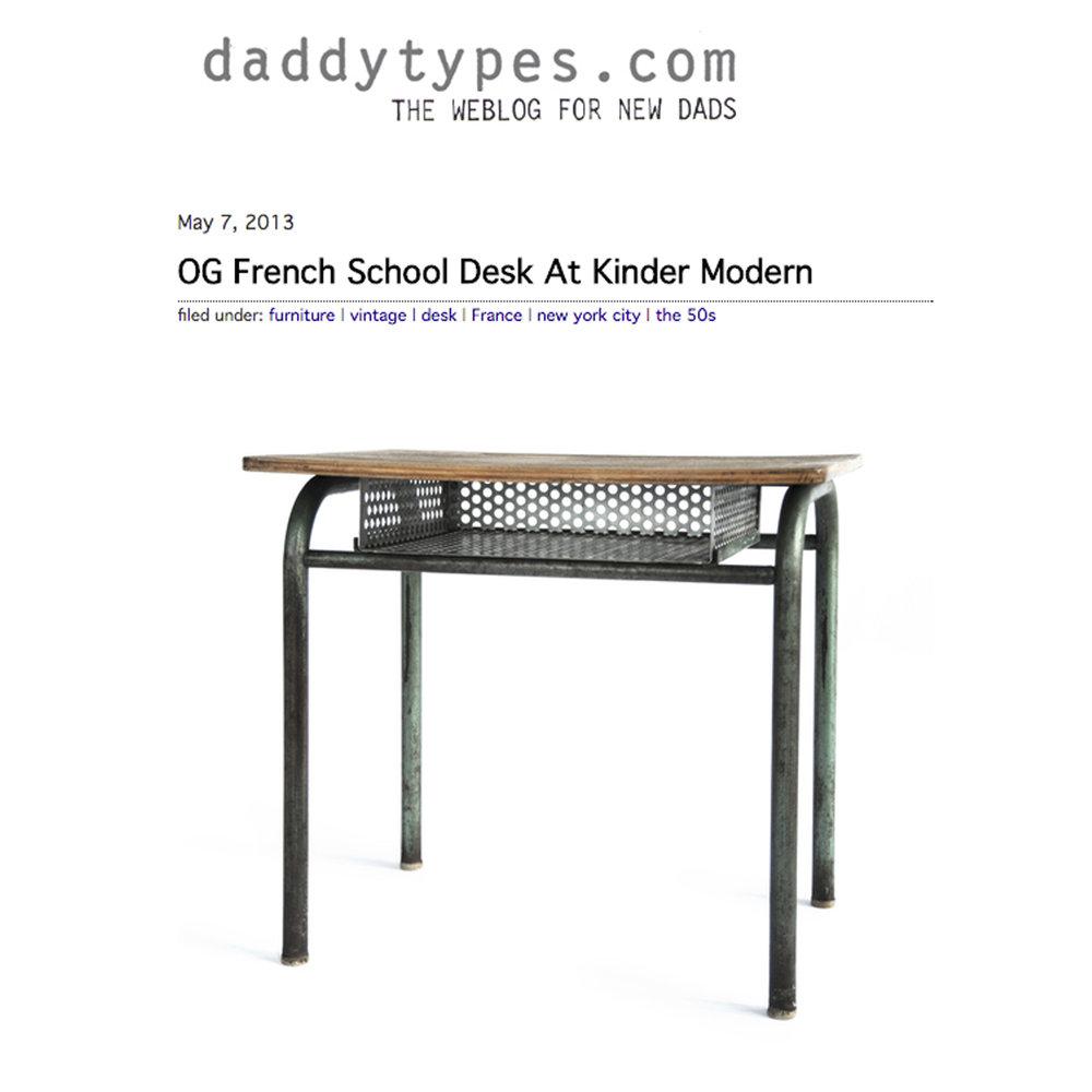 Daddytypes.com, 2013