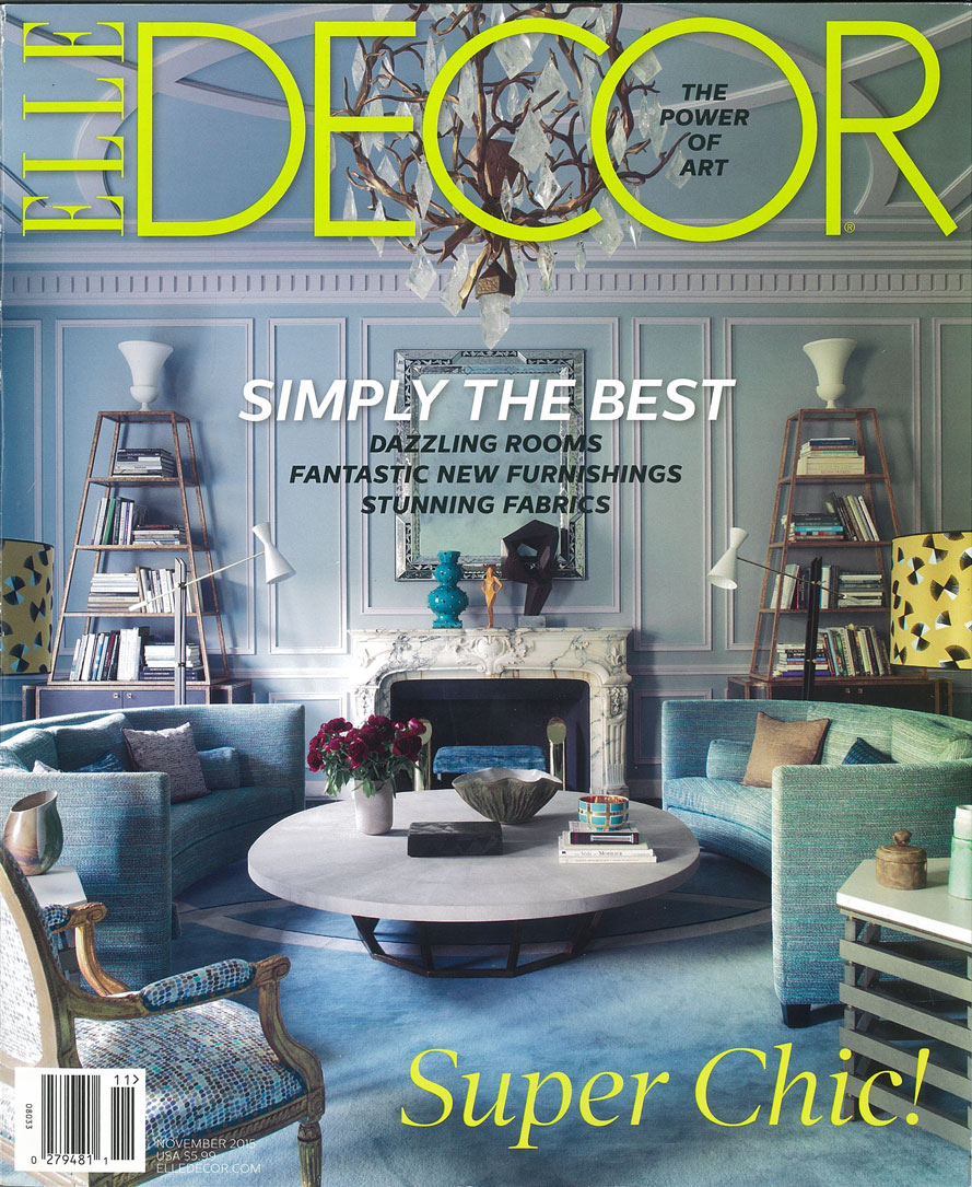ELLE DECOR, November 2015