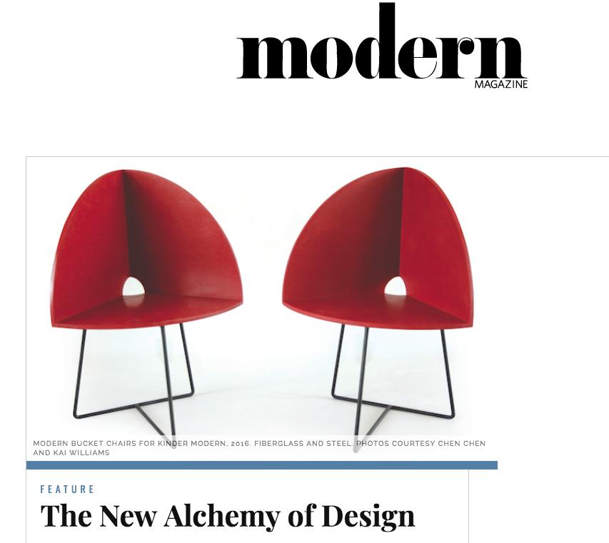 The Alchemy of Design, 2017