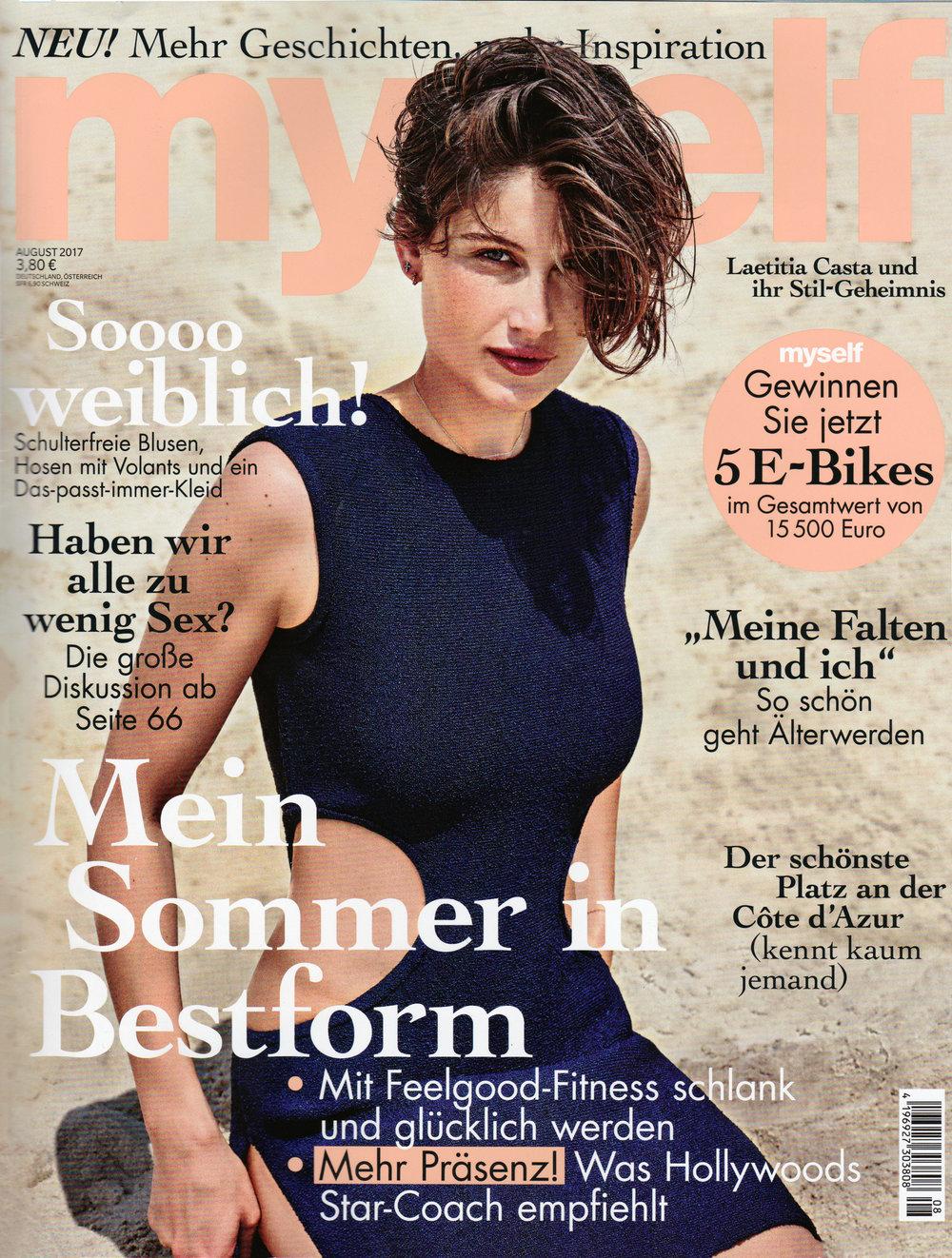Myself Magazine, August 2017
