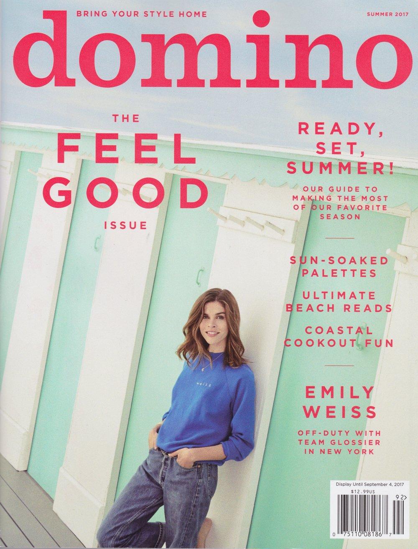 Domino, Editor's Picks, Summer 2017