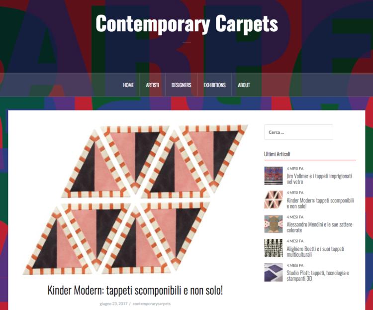 Contemporary Carpets, 2017