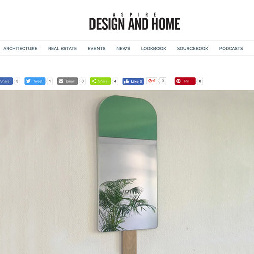 Aspire Design and Home, Ice Cream Mirror