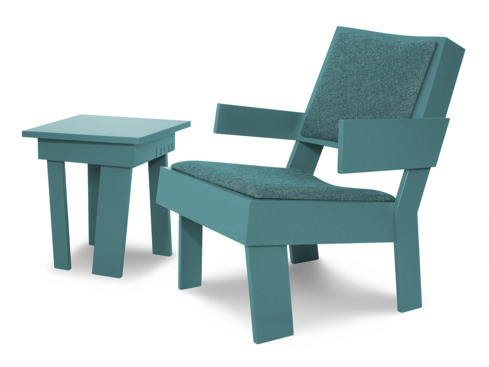 Tom Frencken FURNITURE low chair and table.jpg