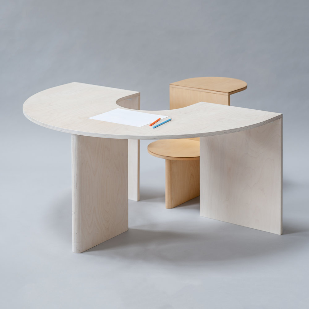 kinder MODERN Announces the Launch of the Lunar Table and Eclipse Chair / November 2017