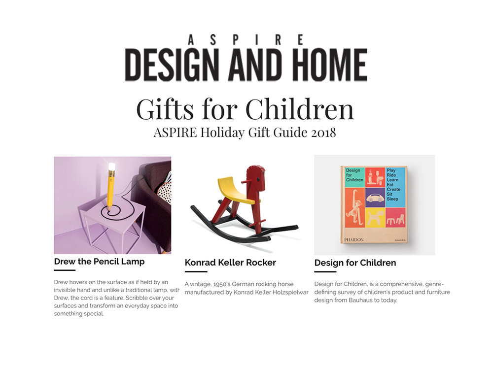 ASPIRE DESIGN AND HOME, October 2018