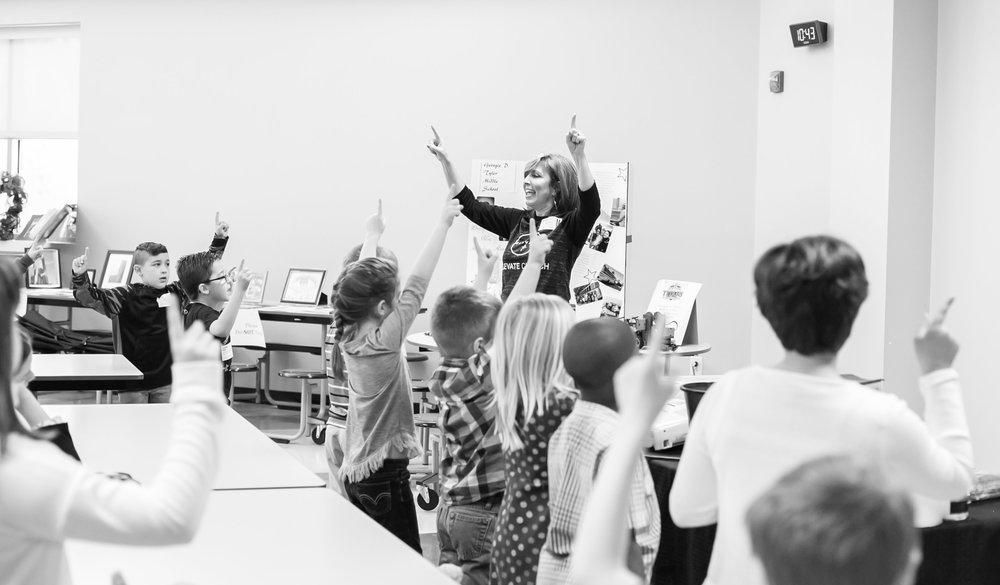 Elevate KIDZ - Help children experience Jesus on their level. Serve kids up to the 5th grade in a clean, fun and rewarding environment.Includes: teenyKidz, weeKidz, eKidz