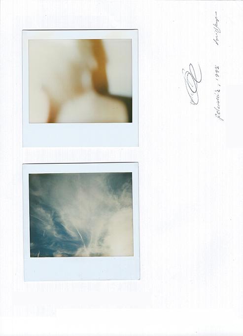Polaroids, 1998. by Kari Hansbarger