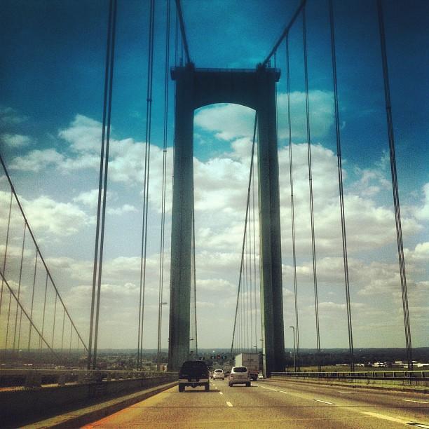 NJ to Delaware...