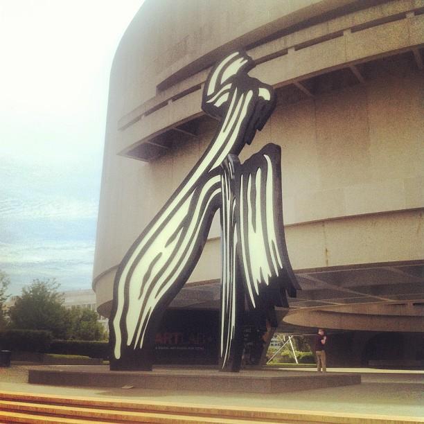Lichtenstein at the Hirshhorne