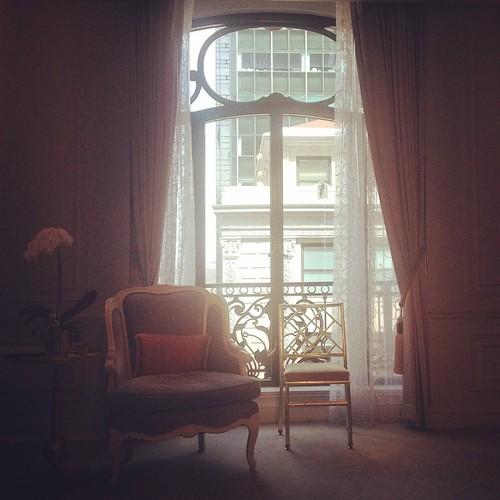 Dior Suite, St. Regis, NYC. By Kari Hansbarger