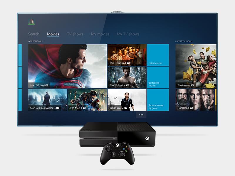 """Blinkbox Xbox One <hr class=""""line""""/>"""