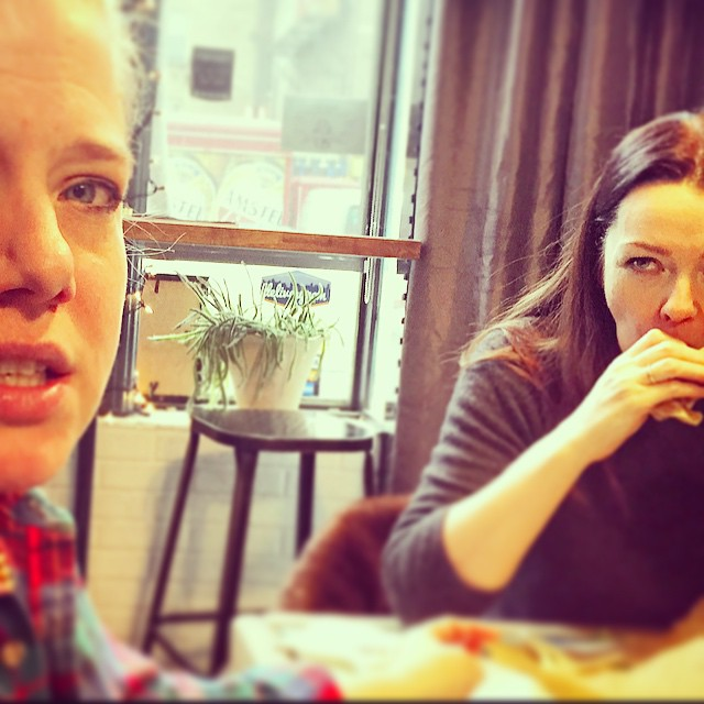 Eyes have it. Great having u beauties in the shop 2day @madamefortuna @albertine_nyc #deliciousness