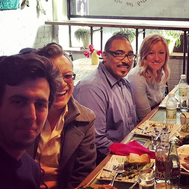 Here's the other half of the @foodnetwork @mindsmack table  #lovelyafternoon