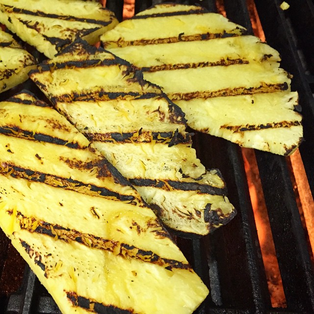Xcited to be working on @letsmove campaign by the beautiful #healthy #fit #lifestyle @FLOTUS #grillmarks #pineapple #pepperoncini #tacoparty #yummmmmm