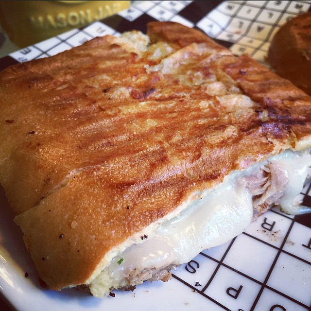 What to eat on a blustery Tuesday in New York? This! #Cuban #Cubano #fiveingredient #deliciousness #nosalami #eatbetter