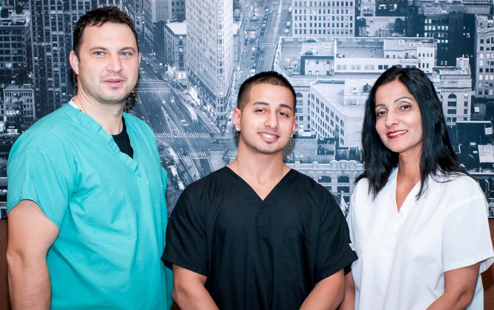 Dental assistants.