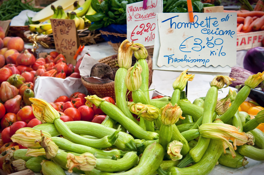 Squash Blossoms - Ventimiglia Farmers Market