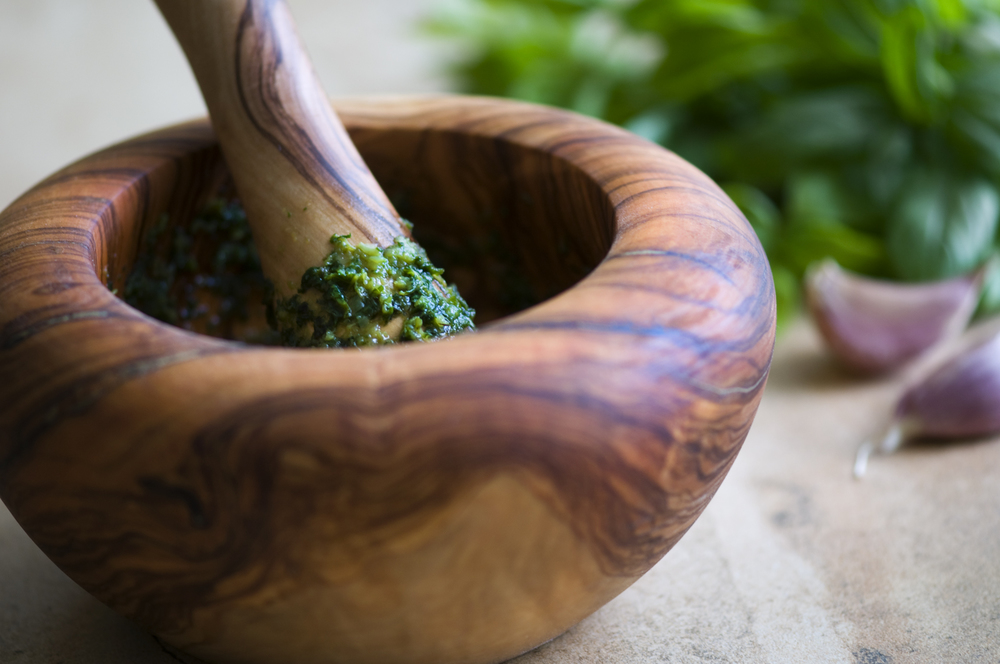 Basil Pesto, made in the traditional Ligurian style