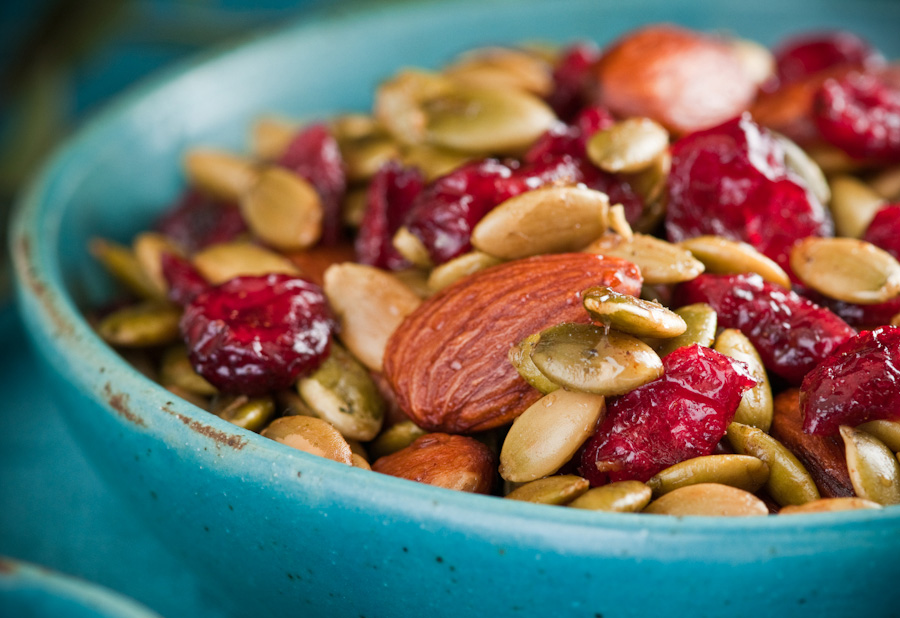 Spiced Maple Snack Mix