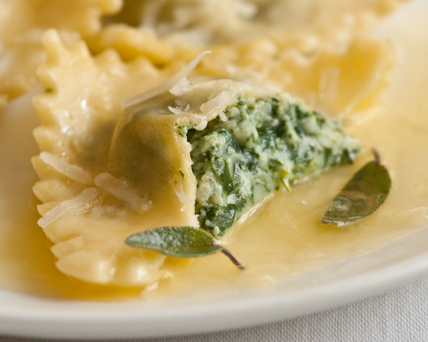Spinach and soy ricotta ravioli — Recipes Hubs