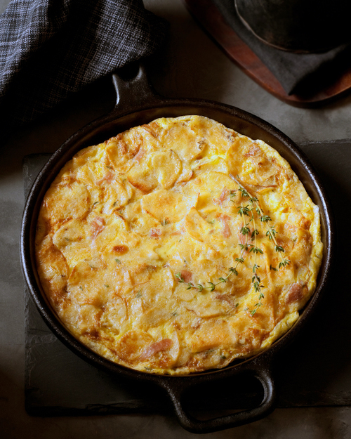 Potato Chip Frittata