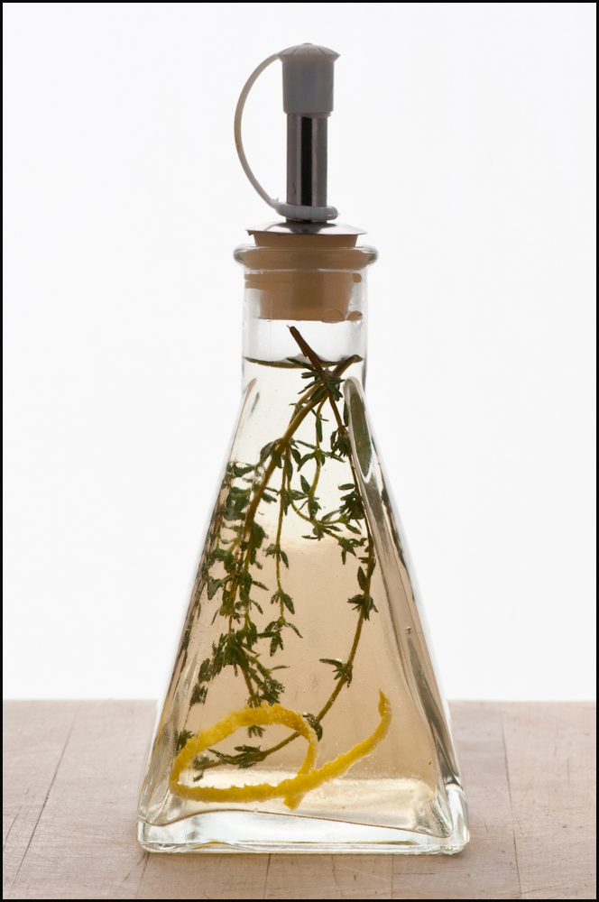 Lemon Thyme Simple Syrup