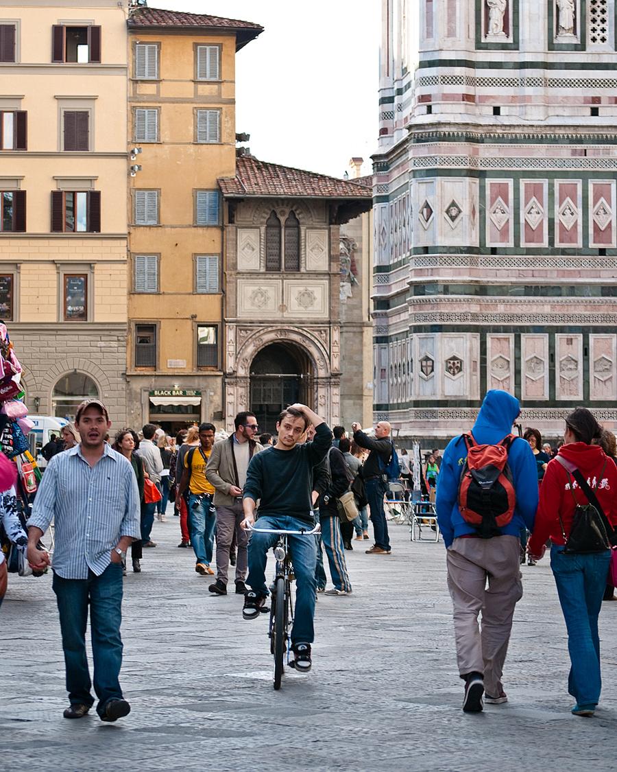 Piazza del Duomo, Florence.