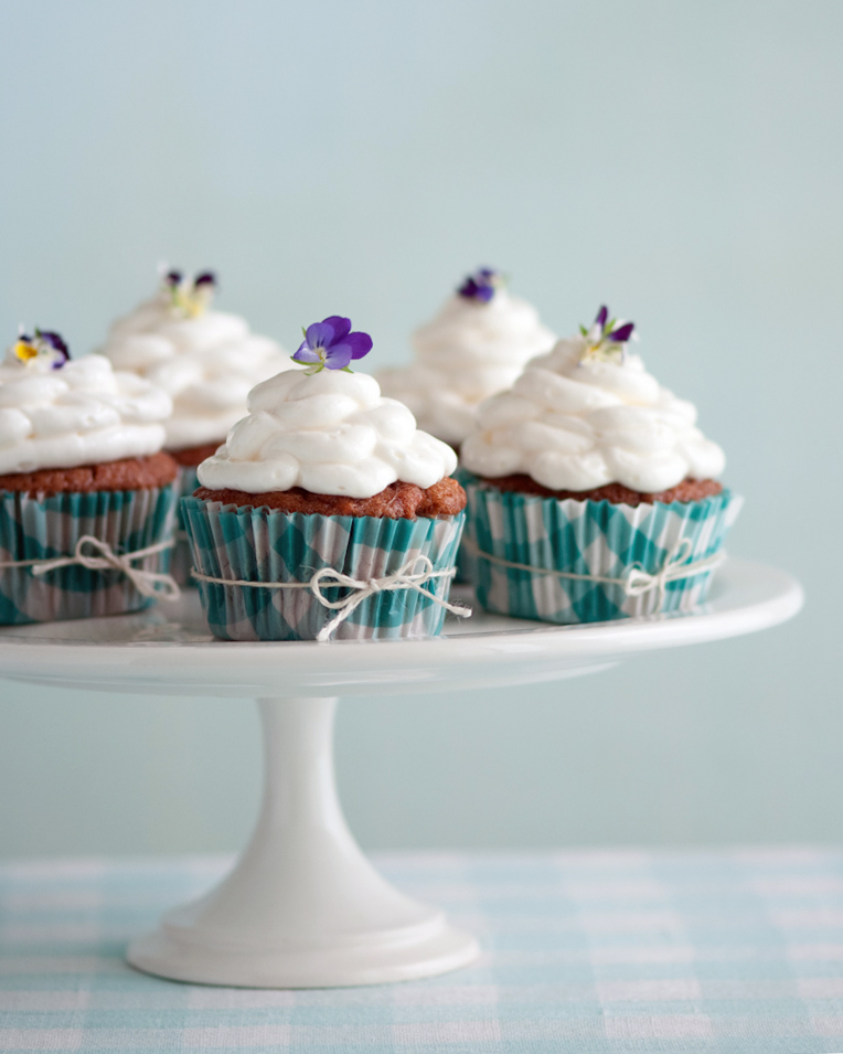 Carrot Cupcakes with Mascarpone Frosting — Beth Dunham