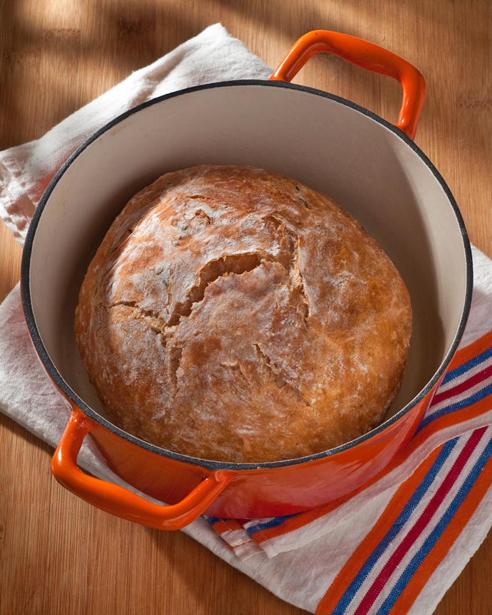 no-knead bloody mary bread