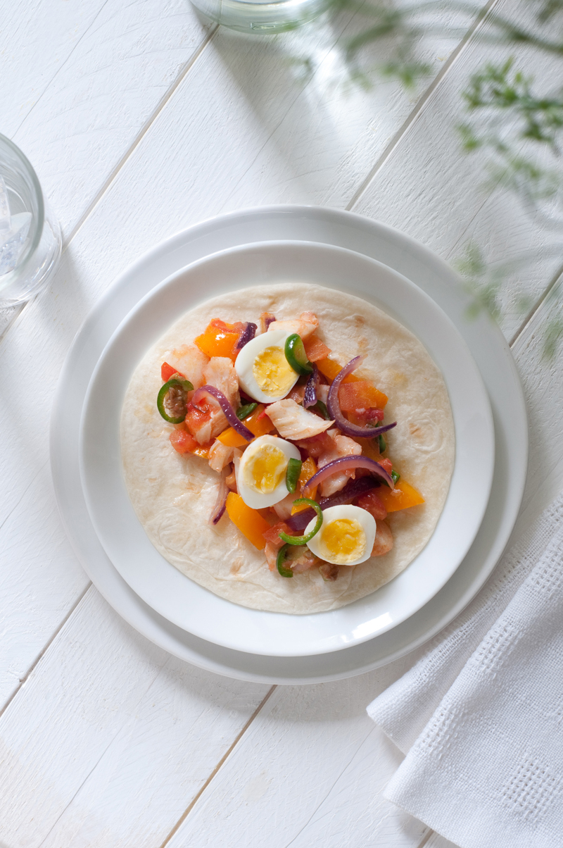 salt cod pick up breakfast taco