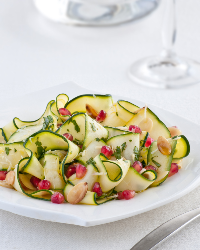 parmesan panko raw zucchini ribbons with parmesan raw zucchini ribbons ...