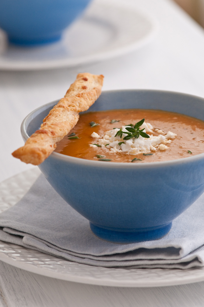 North African spiced tomato soup