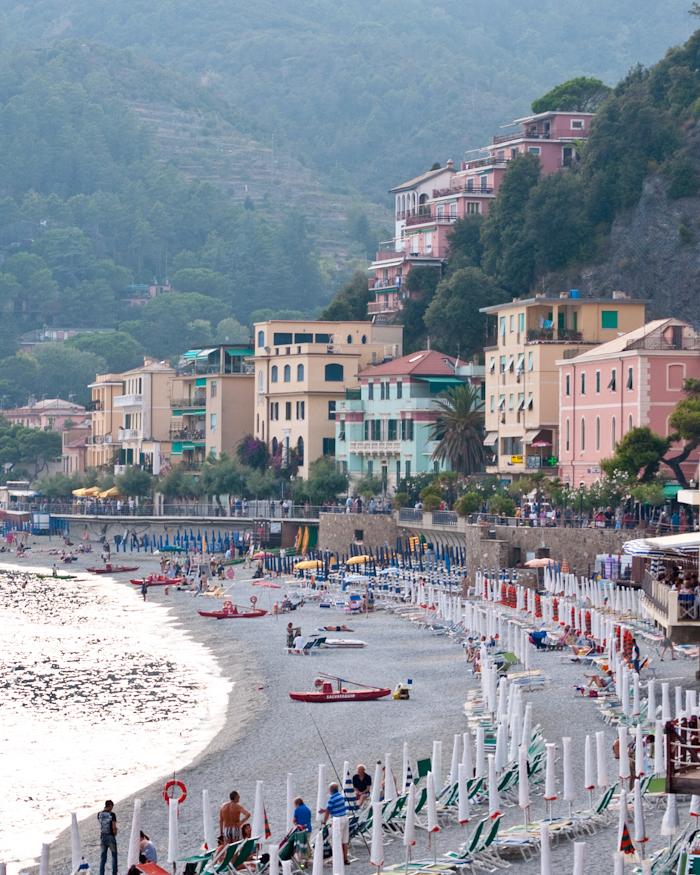 Monterosso's beach