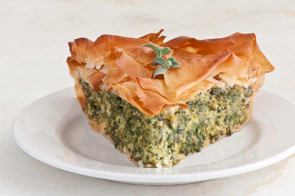 Ligurian Torte Verde slice