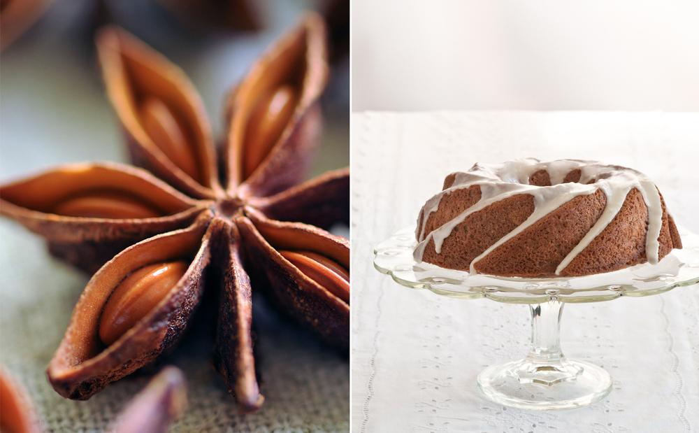 star anise coriander spice cake