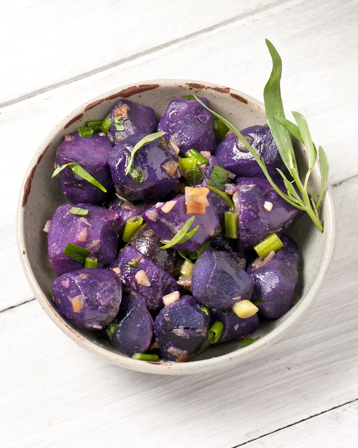 Golden Purple Potato Salad Recipes — Dishmaps