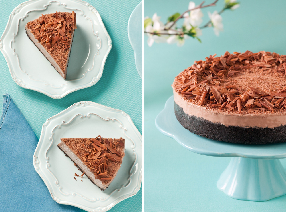 Recipe for sweetened condensed milk frozen mocha cheesecake