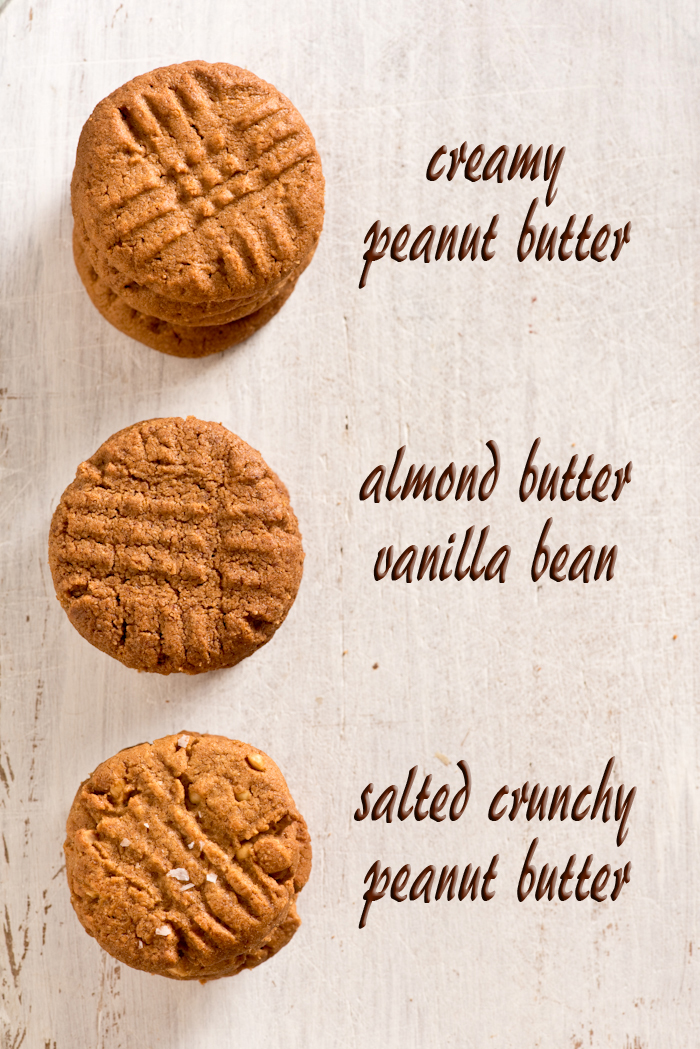 peanutbutter cookie variations