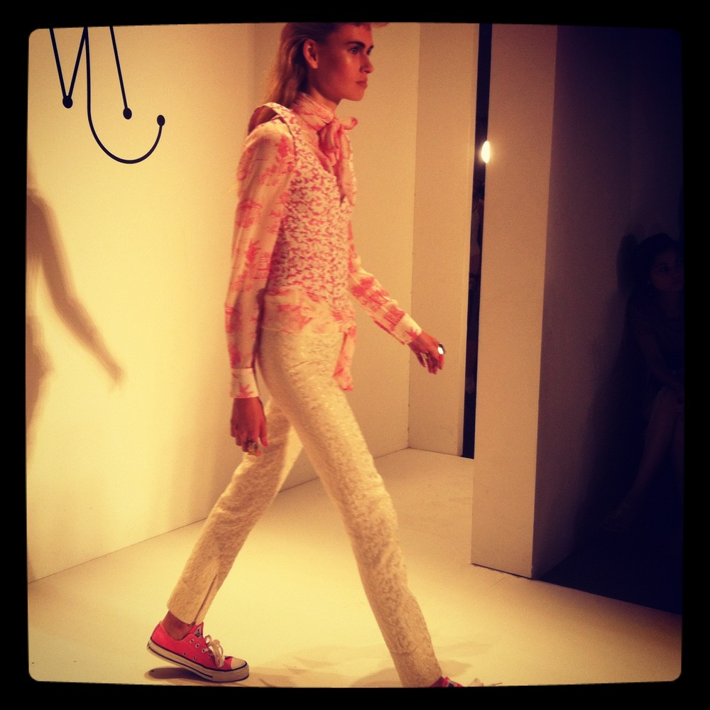 Ruffian Spring 2013 Fashion Show