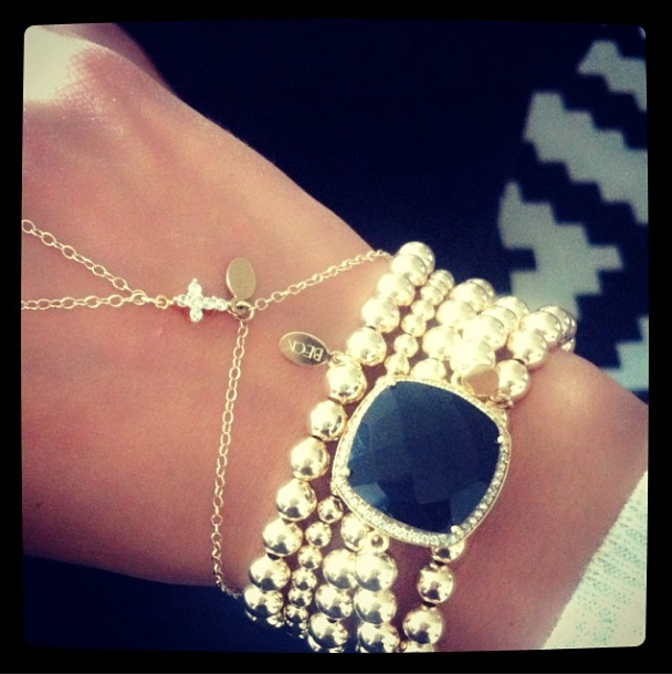 Wearing my #BECKlettes and #BECK #handchain #bracelets #wristoftheday #jewelry