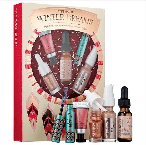 Josie Maran Winter Dreams Argan Skincare Collection