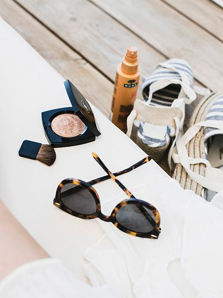 Summer essentials: Sunnies, bronzer, SPF and espadrilles