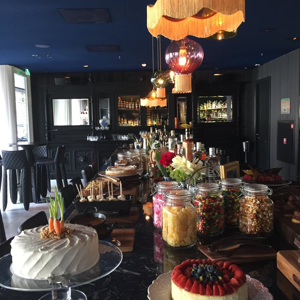 Brunch at the Andaz Hotel, Amsterdam